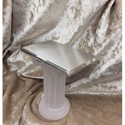 画像1: case by caseツーウェイカードケーケース純銀厚メッキ仕上げ抗菌タイプ