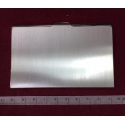 画像3: case by caseツーウェイカードケーケース純銀厚メッキ仕上げ抗菌タイプ
