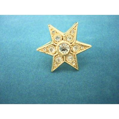 画像1: 星のタックピン